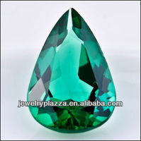 New Fashion Green Emerald Facet Lab loose Synthetic Diamonds ZS028