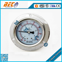 YN-60BD ISO9001 approved bourdon tube oil pressure vacuum gauge