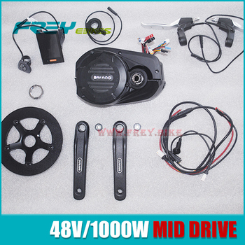 Bafang Ultra 48V 1000W mid drive motor for electric mountain bike electric fat bike