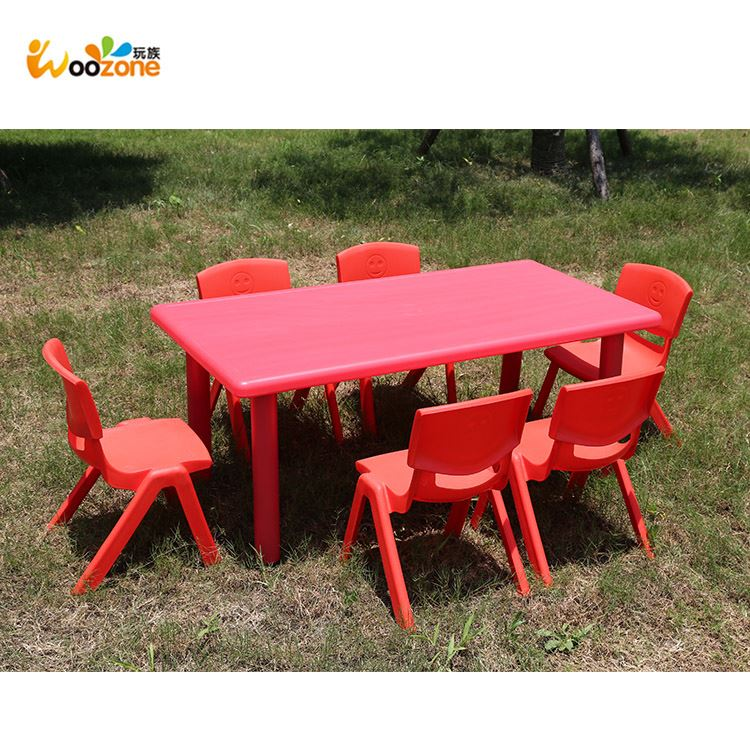 kids school furniture used plastic kids table and chairs sets