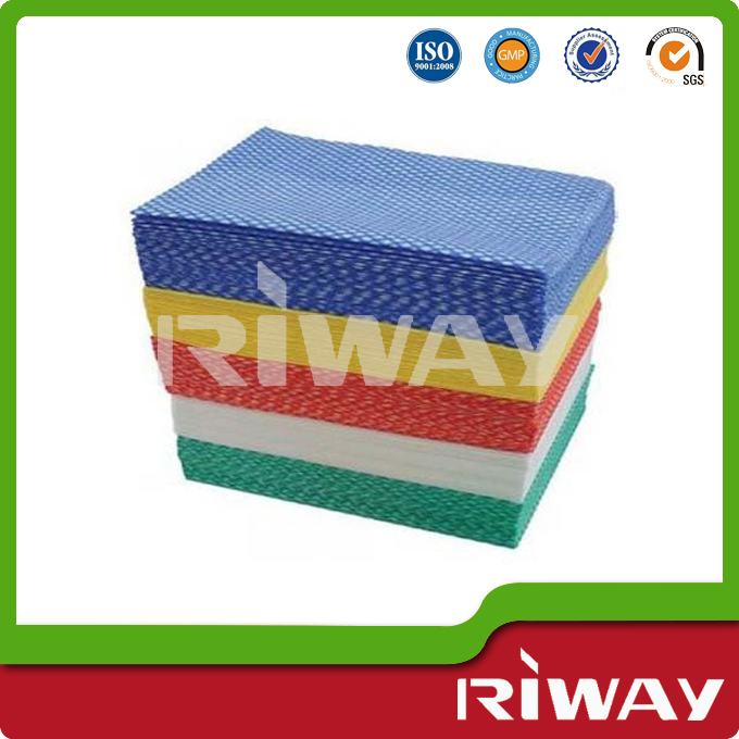 Disposable kitchen cleaning cloth, nonwoven magic cleaning cloth