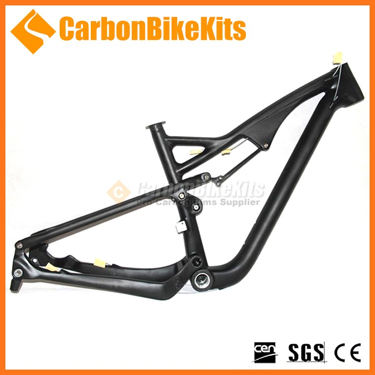 T700 carbon fiber 27.5er mtb 650b mountain bike frame full suspension