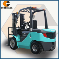 Alibaba China supplier 3.5ton Gasoline Forklift Trucks for sale with Japanese Nissan Engine