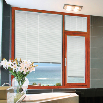 New design high quality sunscreen louver window