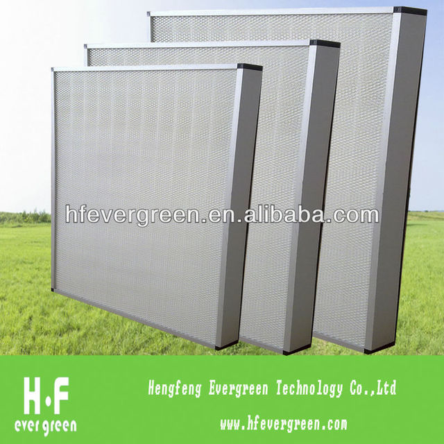 Mini-Pleat Hepa Air Filters With Face Guard Both Sides