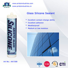Weatherproof / Permanently Flexible Glass Silicone Sealant