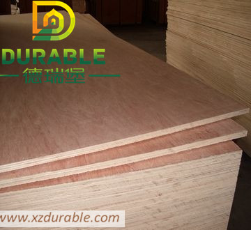 Commercial Plywood Sheet With Okoume / Bintangor / Birch Film From High Quality China Factory