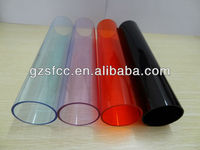 Colored PMMA Tubes acrylic tubes PMMA material colored tubing