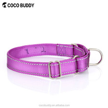 Unique Purple Comfortable and Soft 100% Nylon cocobuddy Pet products Dog Collar Leash for Sale