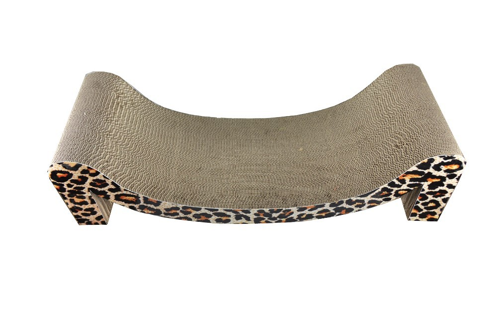2015 New product corrugated cardboard scratcher cardboard cat bed