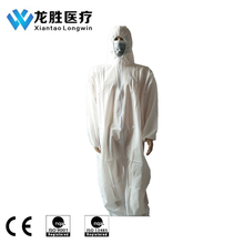 SMS Fire Retardant Coverall/Waterproof Disposable Coverall
