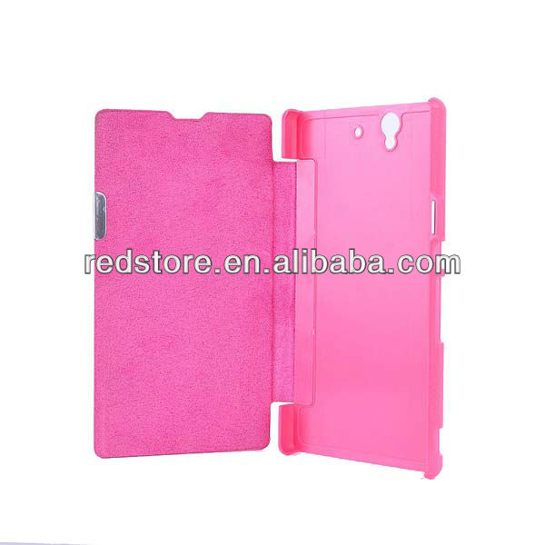 Folio Magnetic Flip Leather Case Battery Cover For Sony Xperia Z L36h L36i C6603