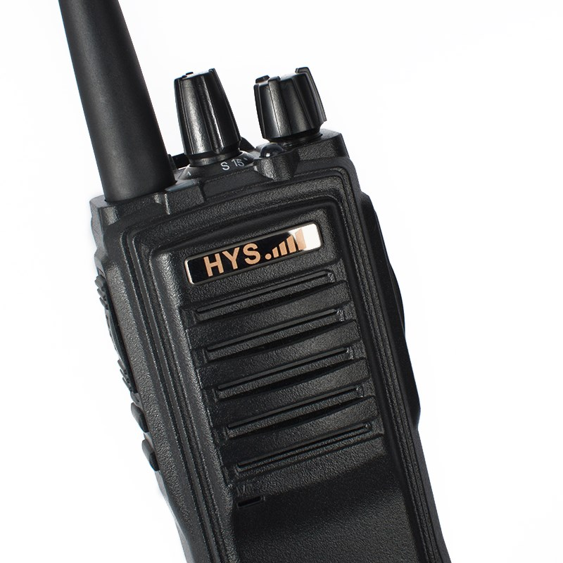 Portable Walkie Talkie 16 Channels VHF UHF Dual Band Digital Two Way Radio