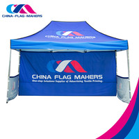 custom printed canopy , trade show outdoor event canopy marquee tent for sale