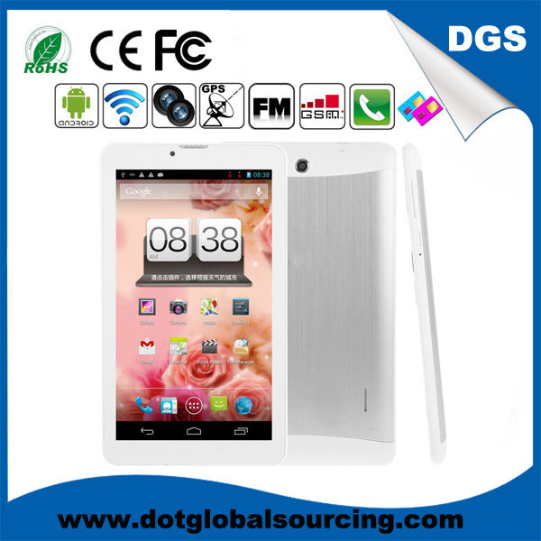Cheapest price android tablet 7 inch dual core with 3g wifi
