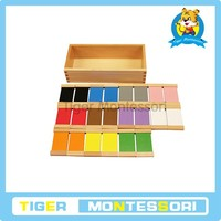 Montessori Material,Woodenmontessori toys in china - Color Tablets(2nd Box)