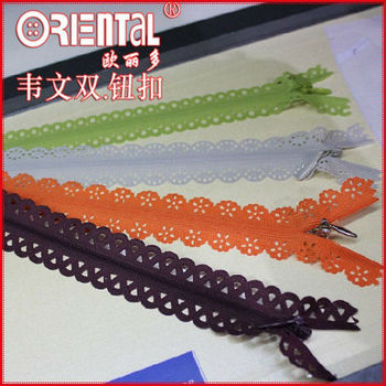 high end KCC women special invisible zipper