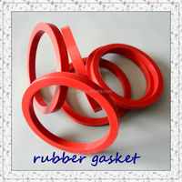 red round silicone rubber gasket
