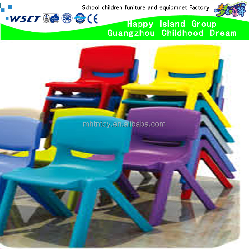 High quality cheap plastic nursery school furniture of chairs
