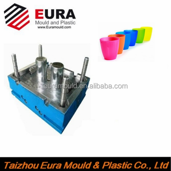 high quality plastic Injecting Baby/Kids snack cup mold ,cup injection mould maker