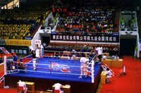 Traning boxing ring 6m*6m*1m