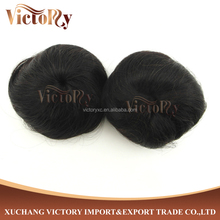Natural Looking and Low Price Virgin Human Hair Chignon