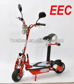 500W Homologation Electric Scooter