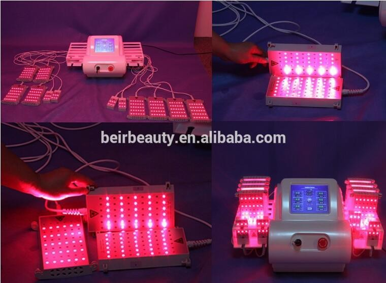 635nm 650nm 810 nm 980nm four Wave lipo laser machine /lipolaser /lipo laser br216