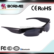 Bluetooth Sunglasses with Hidden Camera HD 1080P Video Recorder Camera Glasses Headset for IOS Android Smartphone Polarized