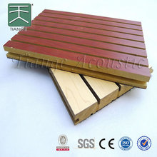 3d Wall Decor mdf Wood Material Slat Board