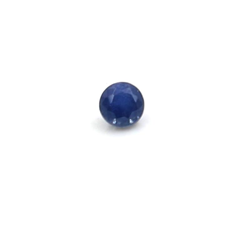 top quality natural blue color 1.75mm blue sapphire price per carat