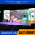 indoor shop window advertising led mirror video screen led poster display