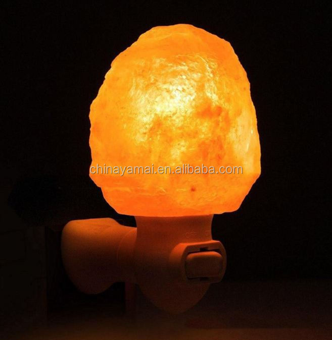 Natural Himalayan Salt Night Light Pakistan Crystal Salt Lamp