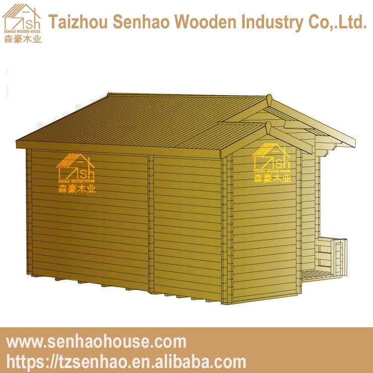 China supplier prefabricated outdoor wooden house