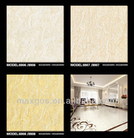 Cheap glazed vinyl floor tile standard size