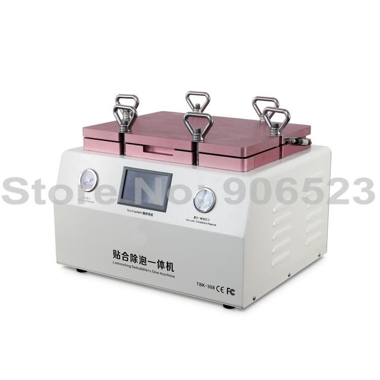 NEW OCA Vacuum Laminating machine Remover Machine Debubbler Integrated 2 in 1 touch screen repair machine support 15 Inch