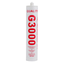 G3000 280ml/300ml RTV Silicone Sealant Adhesive for Metal Windows
