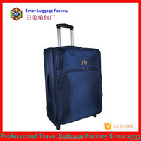 Hot Sale High Quality Fashion Built-in Trolley Luggage/Travel Suitcase