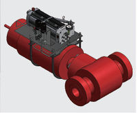 Oil equipment company oil drilling and producting system wellhead assembly api 6a ESD Hydraulic Surface safety valve.