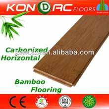 Quality Bamboo Solid Flooring, CE certified Pure Green Horizontal Carbonized 15mm, 17mm Bamboo Flooring