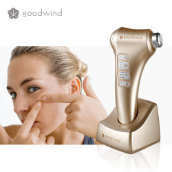 Goodwind high tech Portable Ultrasonic faCE cleaning set 4 in 1 battery powered