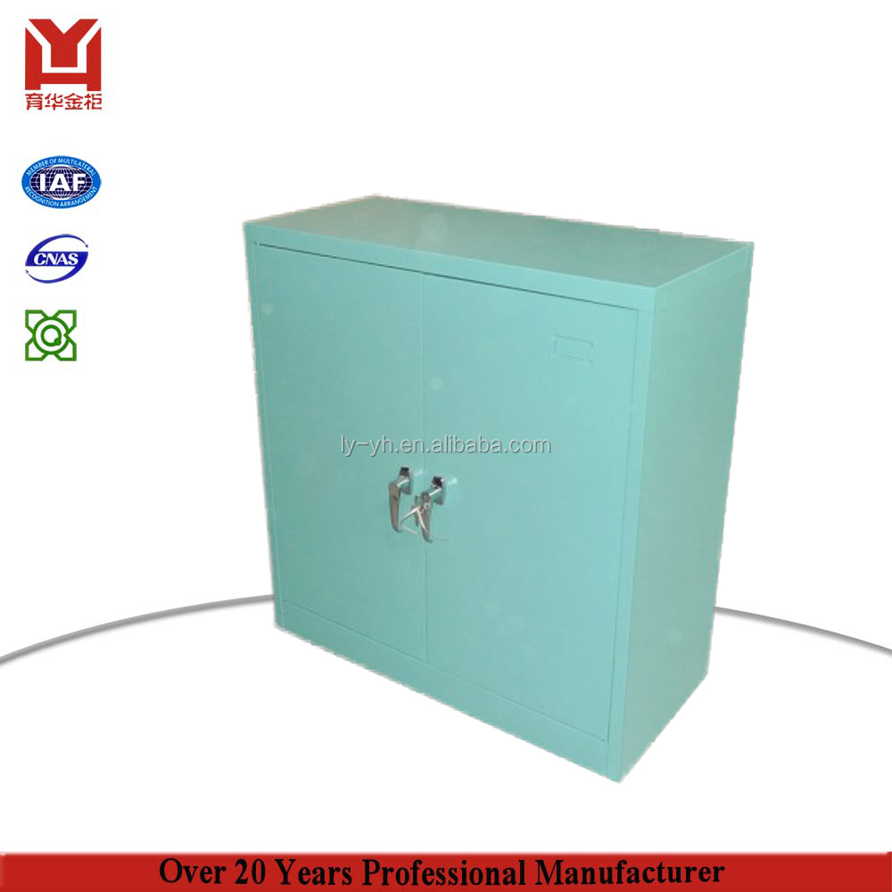 Luoyang New Design Hermaco Stainless Steel 2 Swing Door Filing Cabinet Metal Foldable Wardrobe Luggage Storage Cabinet