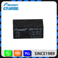Asiaon JQX-115F home appliance pcb mini 110 volts relay