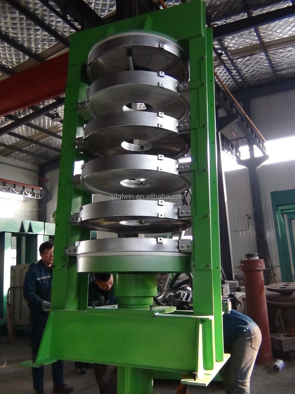 5 molds Tire Vulcanizer Machine Curing Press with Hydraulic Station