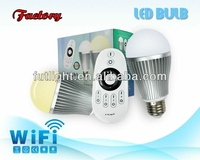 qualified 9 watt led bulb 220 volt led lights e27 led light bulb cool&warm white withCE&RoHS