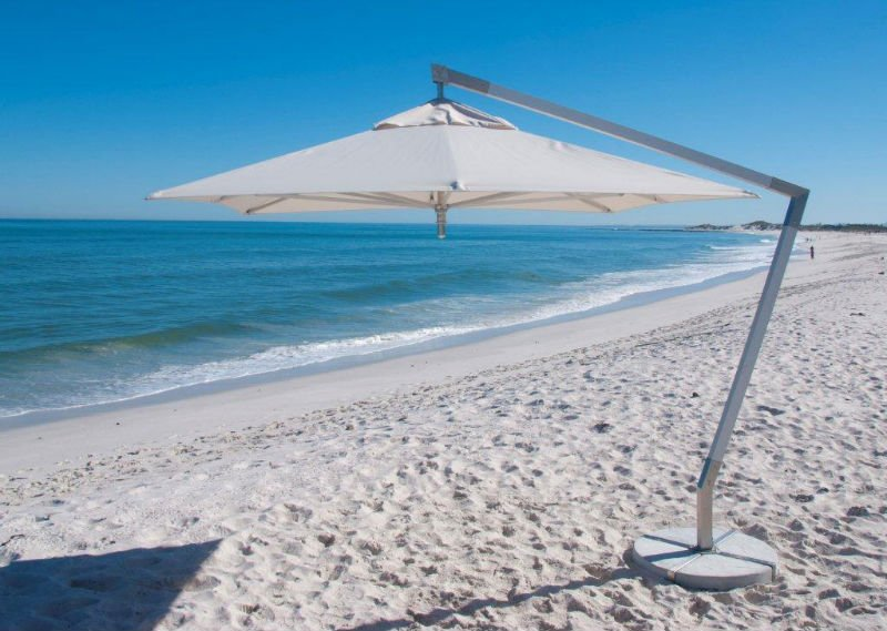 West Coast Cantilever Power Outdoor Umbrella