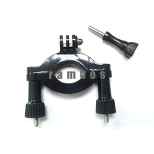 Sport Camera Accessories Adjustable Arm Motorbike Pole Roll Bar Mount for Gopro Hero 3+/3/2/1