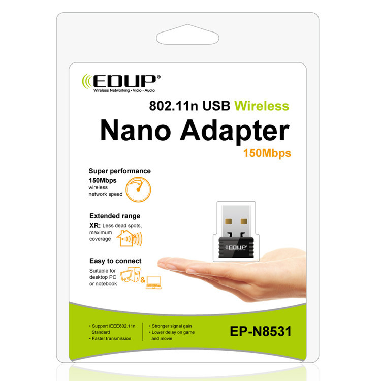 EDUP EP-N8531 Ralink5370 150Mbps wifi extender network card mini usb wireless adapter