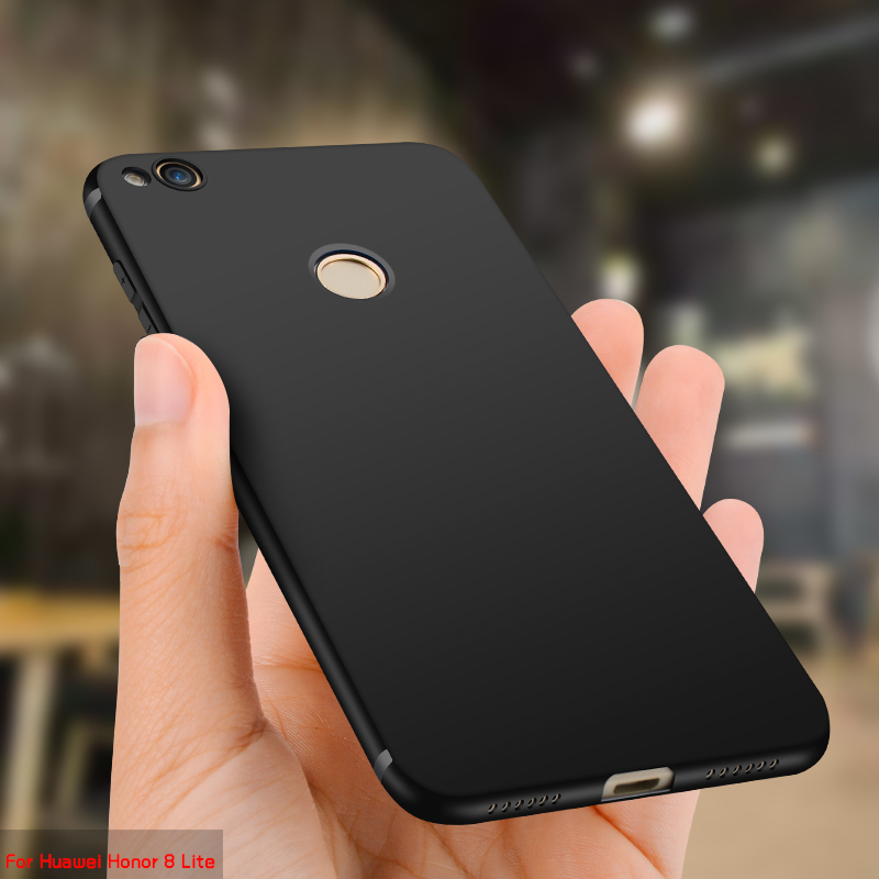 Luxury Ultra Thin Silicone TPU Soft Cover Case For Huawei Honor 8 Lite Case