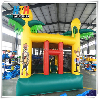 Promoting inflatable paradise bouncer for sales